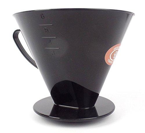 EDESIA ESPRESS - Kaffeefilteraufsatz aus Kunststoff - Größe 6