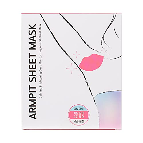 [ARMPIDENT] Armpit Sheet Mask(3 pairs) - Underarm Lightening, Soothing, Calming Hair Removal Aftercare Korean Skincare #Dab1106