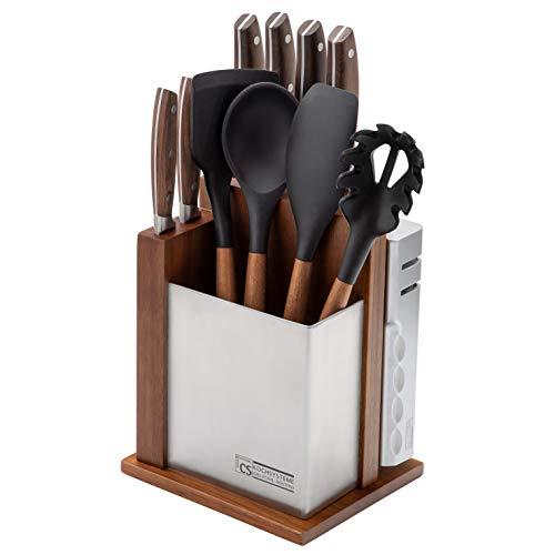 CS Kochsysteme 080228 Soltau Ceppo coltelli da cucina