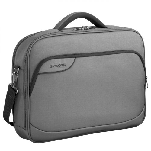 Samsonite Laptop Bag, Notebooktasche Monaco ICT 18.4', grey - grey, 45679