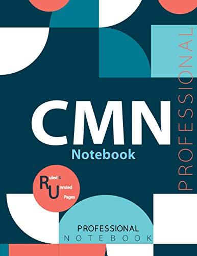 "CMN Notebook, Examination Preparation Notebook, Study writing notebook, Office writing notebook, 140 pages, 8.5"" x 11"", Glossy cover"