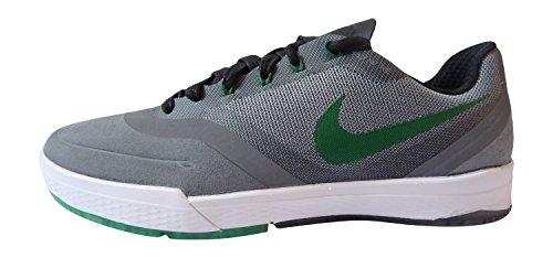 Nike Paul Rodriguez 9 Elite, Zapatillas de Skateboarding para Hombre, Gris/Verde/Blanco/Negro (Cool Grey/Pine Green-White-Blk), 40 EU