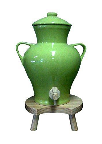 Photo de vinaigrier-ceramique-vert-anis-3-l