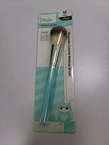 Cepillo de maquillaje de nailon con mango de madera profesional para base en polvo, sombra de ojos, brocha de maquillaje, herramientas de belleza