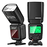 Neewer NW655 Flash de Cámara para Nikon, 2,4G TTL HSS 1 / 8000s GN58 Flash Inalámbrico Compatible con Nikon D810 D800 D750 D700 D7500 D7000 D7100 D90, etc. (Disparador No Está Incluido)