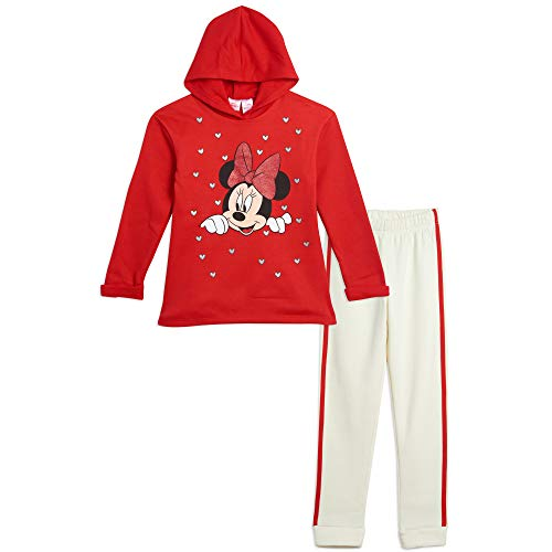 Disney Minnie Mouse Toddler Girls Hoodie and Legging Set 3T Red
