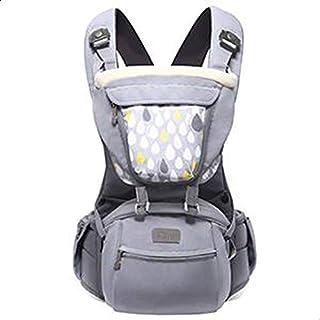 حامل اطفال امامي بتصميم حبال لحمل الطفل، حامل اطفال هيبسيت كانجرو للاطفال بعمر 0-36 شهرا