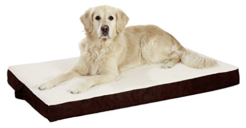 Karlie Orthobed Coussin pour Chien rectangulaire Beige