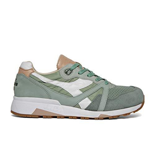 Diadora Heritage N9000 H ITA Sneakers für Herren, Grau - Grigio Acqua - Größe: 42.5 EU