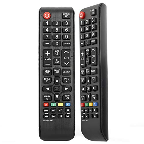 BN59-01301A Universal Replaced Remote Control for All Samsung Smart TV LCD LED HDTV 3D TVs Models BN59-01199F BN59-01198X BN59-01198G BN59-01302A BN59-01198C