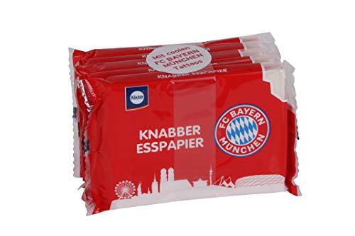 Küchle Knabber Esspapier FC Bayern mit coolen FC Bayern München Tattoos 5x25g