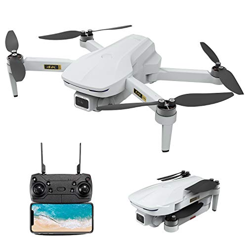 4K Drone, EACHINE EX5 GPS Mini Drone with 4K UHD Camera for Adults 5G GHz WiFi FPV Floadbale Drones Quadcopter with Brushless Motor 1000m Control Range, 30 Mins Flight Time, Follow Me