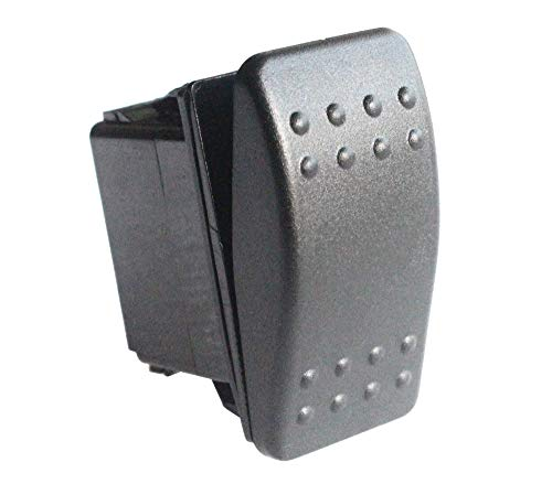 Bandc 2 Pins Spst On-Off Rocker Switch Waterproof Replacement for Marine Boat