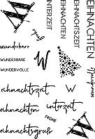 DIYスクラップブッキングフォトアルバム用ドイツ透明クリアシリコンスタンプシール装飾クリアスタンプシートM1158