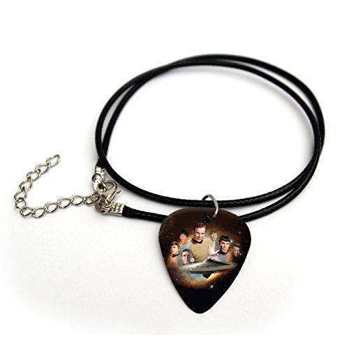 STAR TREK Printed Guitar Pick Necklace 18'