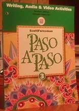 Paso A Paso 3 Writing Audio & Video Activities Teacher's Edition