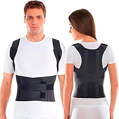 TOROS-GROUP Comfort Posture Corrector Clavicle and Shoulder Support Back Brace