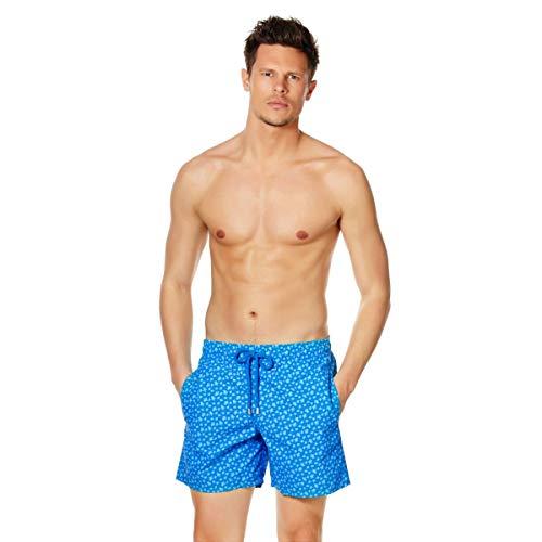 Vilebrequin - Men - Swimwear Micro Ronde des Tortues - Hawai Blue - XL