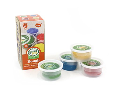 Green Toys Dough 4 Pack Activity Set