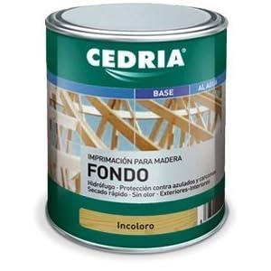 Imprimación Fondo Cedria Maderas Pino-Abeto (4 litros)
