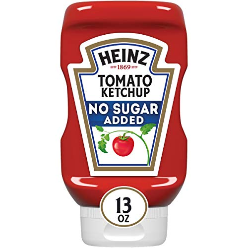 Heinz Ketchup No Added Sugar (13 oz Bottle)