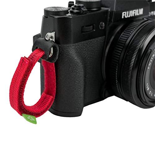 COSYSPEED Fingerschlaufe Fingercamstrap 10 BW rot für Kompakt-/Systemkameras - Camslinger 105/160 Kamerataschen