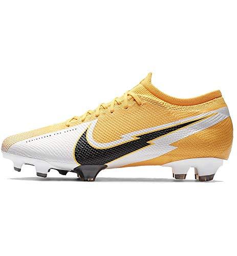 Nike Unisex-Adult Vapor 13 Pro FG Football Shoe, Laser Orange/Black-White-Laser Orange, 43 EU