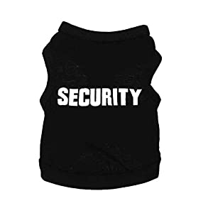 Sztara T-shirt pour animal domestique Chien Chiot Thème uniforme agent de police Tenue d'été Déguisement