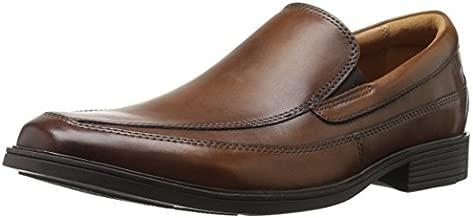 Clarks Men's Tilden Free Slip-On Loafer, Dark Tan, 9 M US