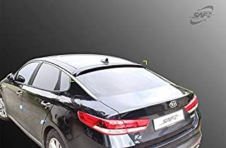 Kyoungdong Smoke Black ABS Rear Window Visors Roof Spoiler for 2016~2019 KIA Optima