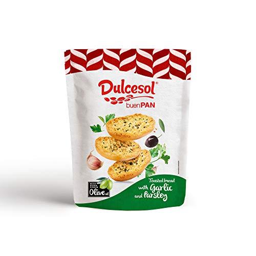 Dulcesol Panecillos con Aceite de Oliva Ajo y Perejil, 160g