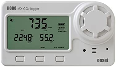 Onset HOBO MX1102A Bluetooth Carbon Dioxide, Humidity and Temperature Data Logger