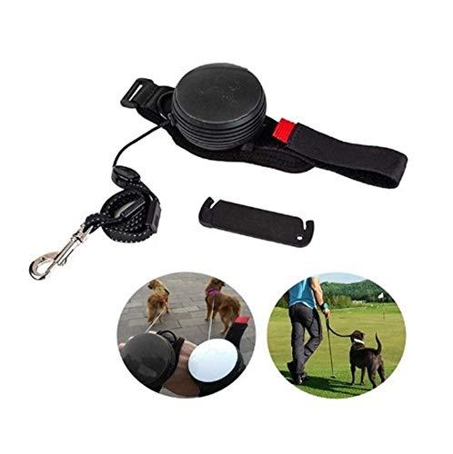 Sicherheitsgeschirre YSJ Einziehbare Hundeleine mit justierbarem Handgelenkschlaufe, Handfreier Reflektierende Hundeleine Innovative Armband for kleine und mittlere