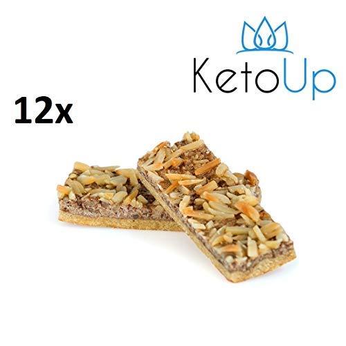 KetoUp: 12 PROTEIN RIEGEL - Ketogene und Low Carb Ernährung | Sport Ernährung | Gesunde Ernährung | 70 Gramm | Versandkostenfreie Lieferung in Deutschland ab Bestellwert von 25€