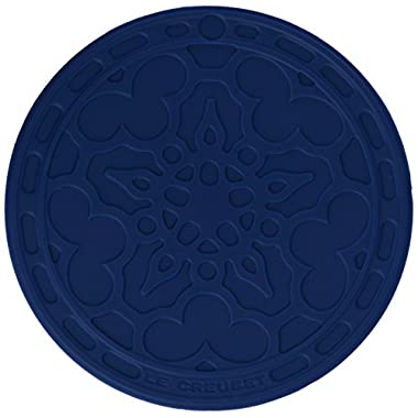 Le Creuset Silicone French Coasters, Marseille, Set of 4