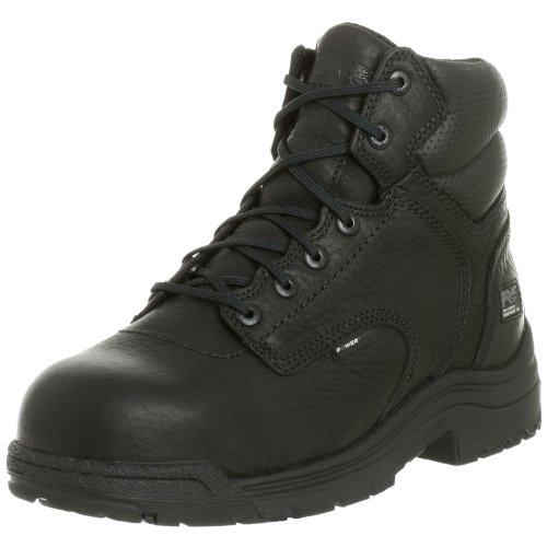 Timberland PRO Men's 50507 Titan 6' Composite Toe Boot,Black,10.5 W