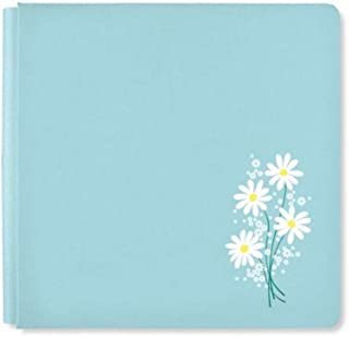 Rare Exclusive Sky Blue Daisy Flower 12x12 NSD 2019 Album Cover Only by Creative Memories
