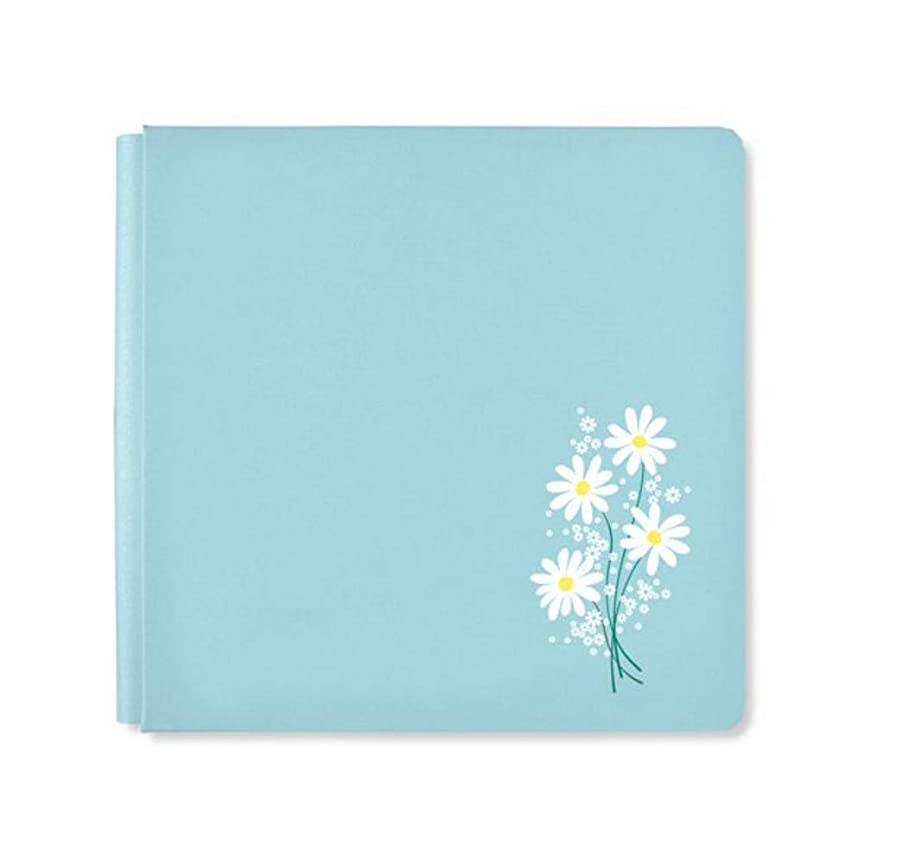 Sky Blue Daisy Flower 12x12 NSD 2019 Album Cover Only by Creative Memories