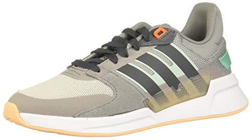 Adidas RUN90S, Zapatillas Running Mujer, Gris (Dove Grey/Grey Six/Chalk White), 41.33 EU