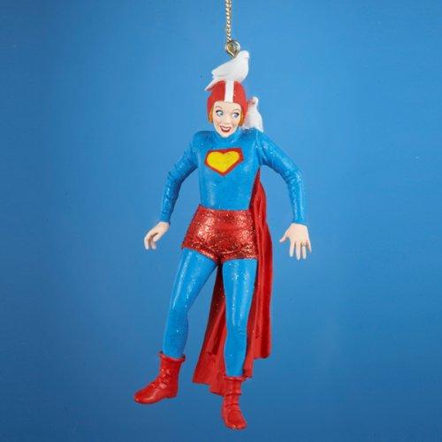 Kurt Adler Lucille Ball Superman 'I Love Lucy' Ornament
