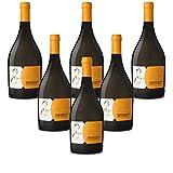Vino blanco italiano Moscato d'Asti DOCG Vallebelbo Cesare Pavese bianco (6 botellas 75 cl.)