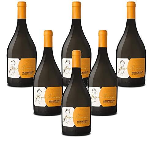 Vino blanco italiano Moscato d