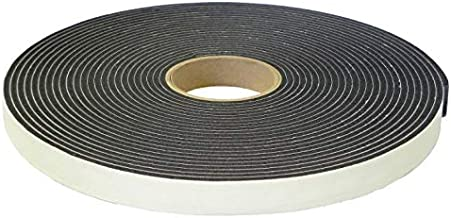 """Adhesive Foam Tape, High Density Sound Proof Insulation Closed Cell Foam Seal Weather Stripping W 1/8""""(.125) x T 1""""(24 mm) x 75' Pack of 1 ROLL"""