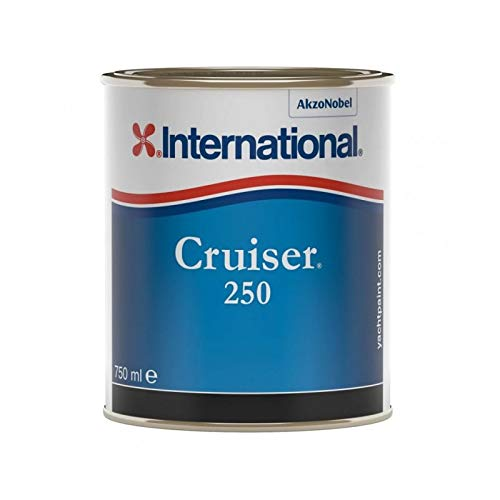 International Antivegetativa Cruiser 250 (2,5 Litri, Nero)