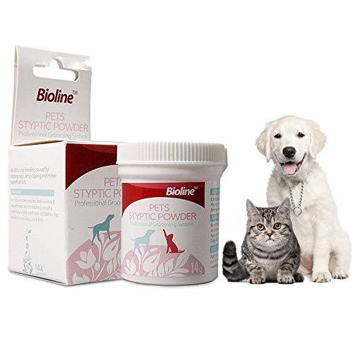 Ceepko Pets Stop Blutungen Blutstillendes Puder | Professionelles Haustier Hund Styptic Powder