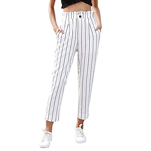 Señoras De Las Tiras Del Ajustado De Los Pantalones Mode Básicos Rectos Pantalones Capri Botón De Los Pantalones Del Ocio Con El Día De Los Pantalones De Los Pantalones De Bolsillos Streetwear Lápiz
