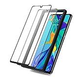 [2 Stück] Beyeah Bildschirmschutzfolie für Huawei P30 lite Panzerglas, [Installationswerkzeug] [Ideal Version] [Anti-Öl] [Anti-Bläschen] [lebenslange Garantie] (Schwarz)