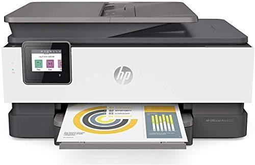 HP OfficeJet Pro 8025 All-in-One Wireless Printer, Smart Home Office Productivity, Instant Ink & Amazon Dash Replenishment Ready (1KR57A)