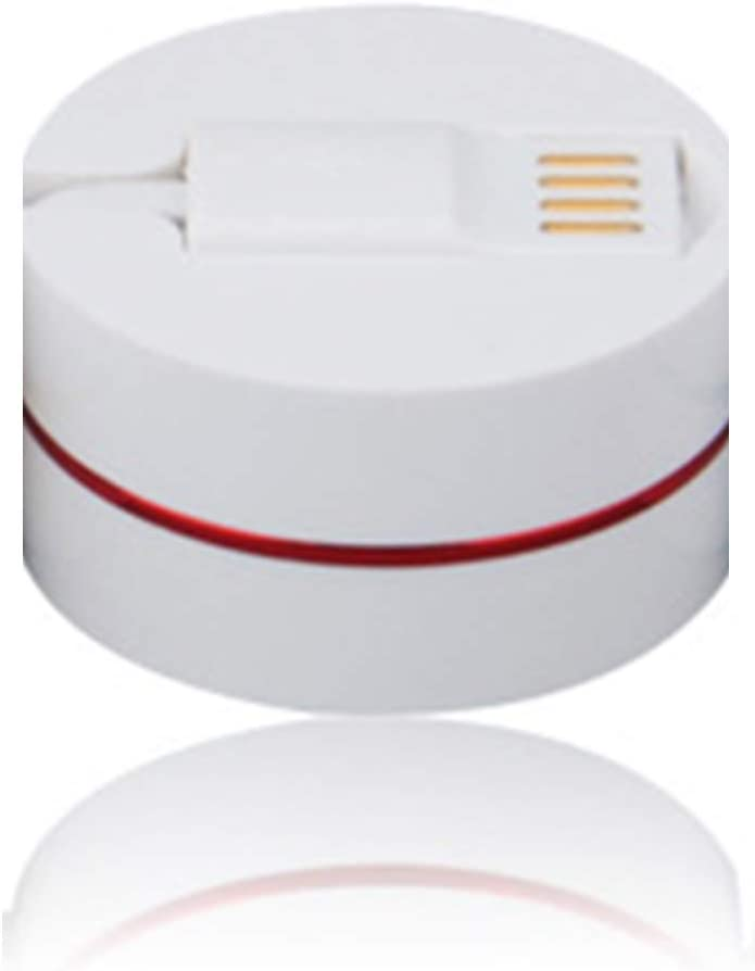 iPhone 4//5//6 Samsung Xiaomie 3 in 1 Round Box USB Charger Retractable Fast Charging Cord for Android Phone Xfc Multi Charging Cable 2.62Ft,Red