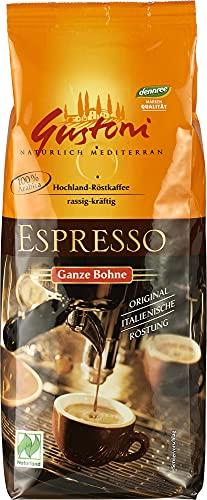 Gustoni Bio Espresso, ganze Bohne (6 x 250 gr)